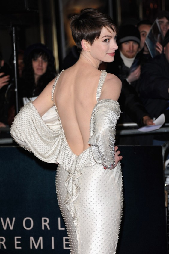 Anne Hathaway - Les Miserables World Premiere in London-18