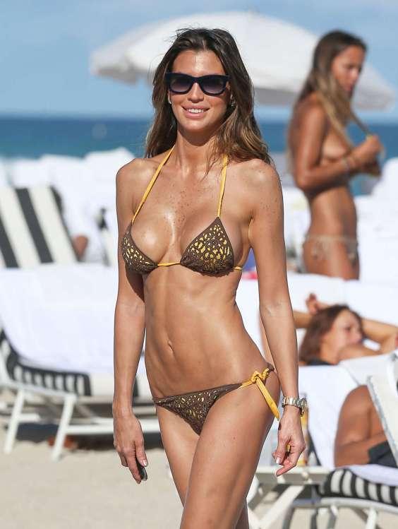 Claudia Galanti - Bikini Photos -02