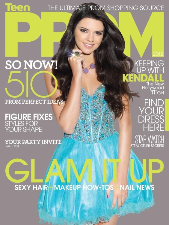 Kendall Jenner - TeenPROM Magazine -03