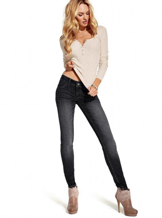 Candice Swanepoel - Victorias Secret Jeans-13