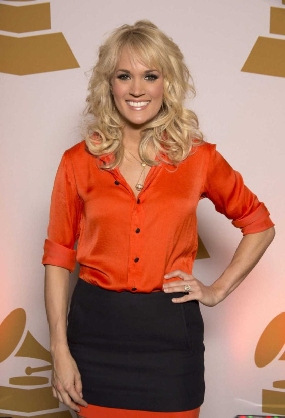 Carrie-Underwood---GRAMMY-2013-Nominee-Party-02