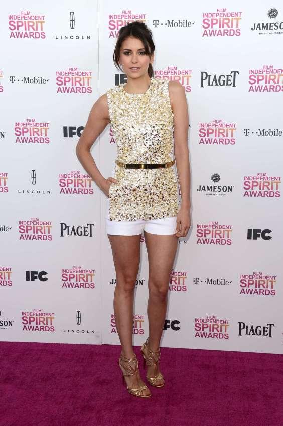 Nina-Dobrev---2013-Film-Independent-Spirit-Awards--05