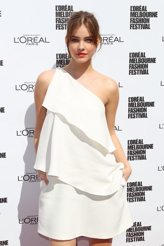 Barbara-Palvin---LOreal-2013-Melbourne-Fashion-Festival--01