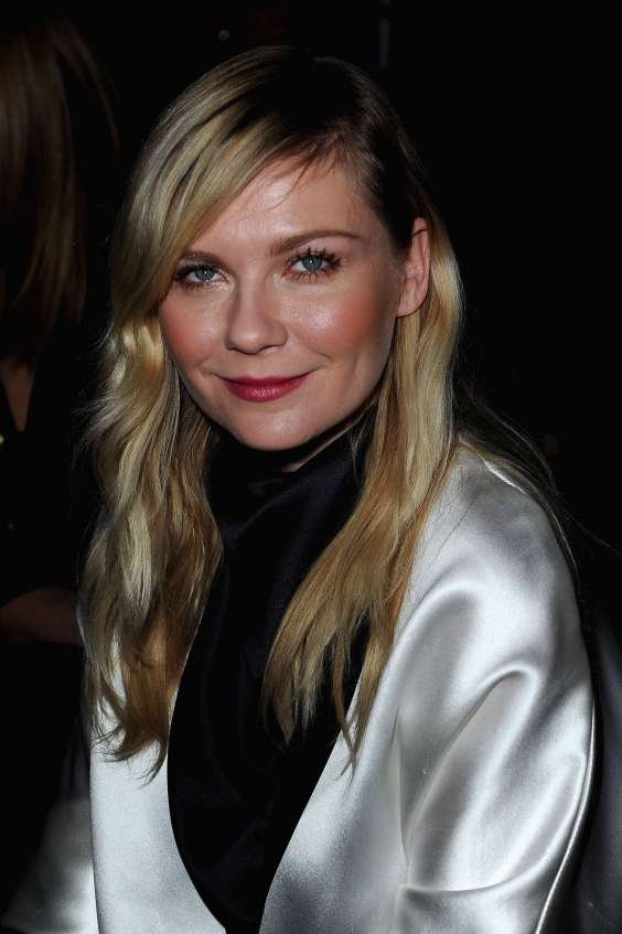 Kirsten-Dunst-at-Saint-Laurent-2013-Fashion-Show-05