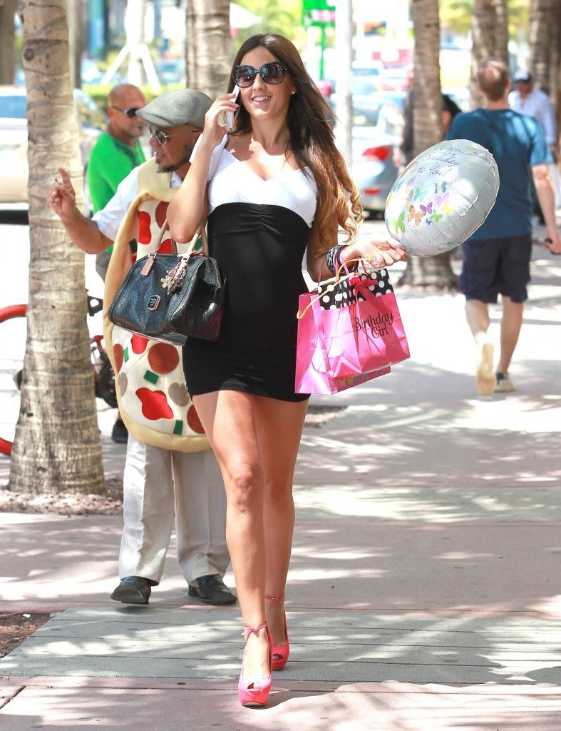 claudia romani � out and about in miami rbc