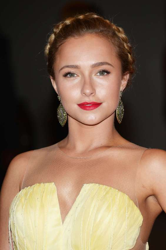 Hayden-Panettiere---In-Yellow-Dress-at-White-House-Correspondents-2013--02