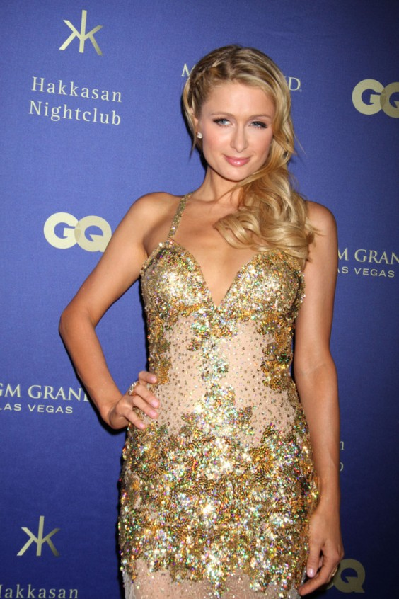 Paris Hilton at the Grand Opening of Hakkasan Las Vegas
