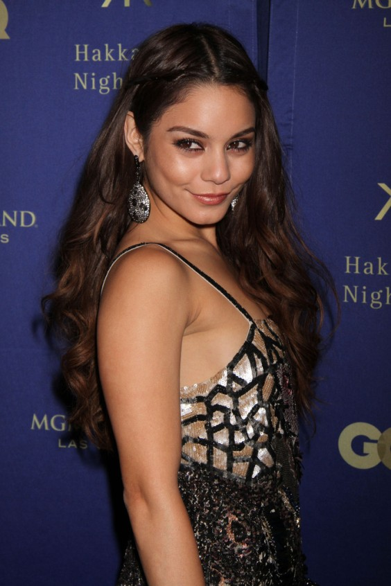 Vanessa Hudgens at the Grand Opening of Hakkasan Las Vegas