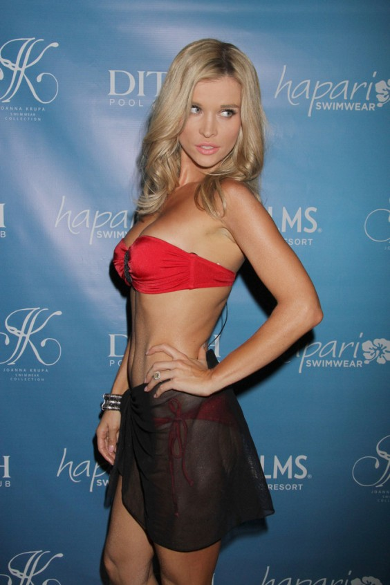 Joanna-Krupa-Wear-Red-Bikini-at-Hapari-Bikini-Line-Launch--03
