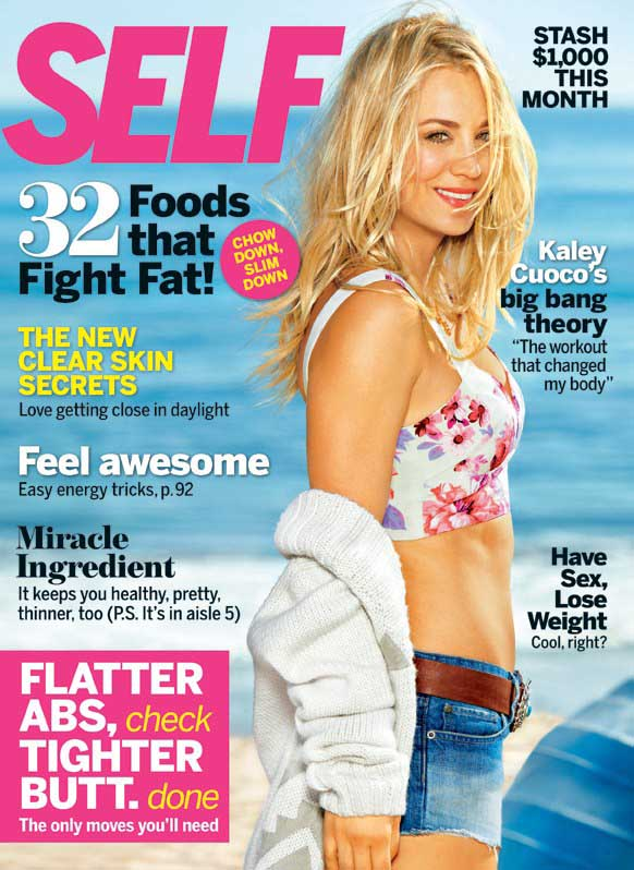 Kaley-Cuoco---Self-Magazine--02