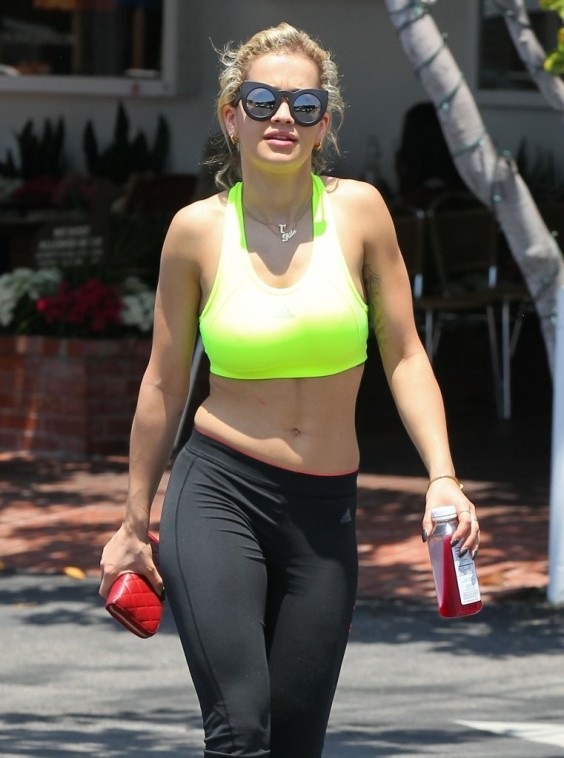 Rita Ora at Fred Segal in West Hollywood