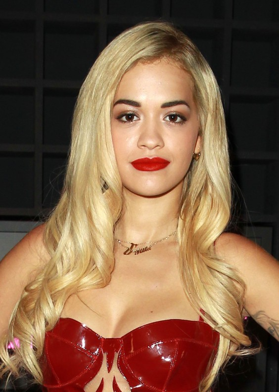 Rita-Ora-Hot-in-Red-Dress-at-2013-Sony-Xperia-Access-Launch-Party--01